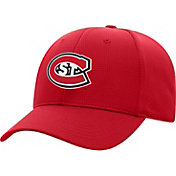Top of the World Men's St. Cloud State Huskies Spirit Red Booster Plus 1Fit Flex Hat