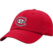 Top of the World Men's St. Cloud State Huskies Spirit Red Crew Washed Cotton Adjustable Hat