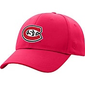 Top of the World Men's St. Cloud State Huskies Spirit Red Premium 1Fit Flex Hat
