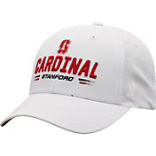 Top of the World Men's Stanford Cardinal Centralize Aura Adjustable White Hat