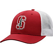 Top of the World Men's Stanford Cardinal Cardinal/White BB Two-Tone Adjustable Hat