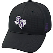 Top of the World Men's Stephen F. Austin Lumberjacks Booster Plus 1Fit Flex Black Hat