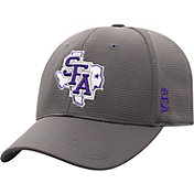 Top of the World Men's Stephen F. Austin Lumberjacks Grey Booster Plus 1Fit Flex Hat