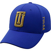Top of the World Men's Tulsa Golden Hurricane Blue Booster Plus 1Fit Flex Hat