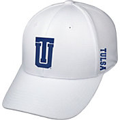 Top of the World Men's Tulsa Golden Hurricane Booster Plus 1Fit Flex White Hat