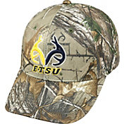 Top of the World Men's East Tennessee State Buccaneers Real Tree Camo RTX 1Fit Flex Hat