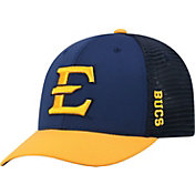 Top of the World Men's East Tennessee State Buccaneers Navy Chatter 1Fit Fitted Hat