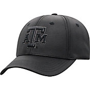 Top of the World Men's Texas A&M Aggies Progo 1Fit Flex Black Hat