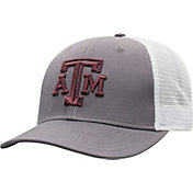 Top of the World Men's Texas A&M Aggies Grey/White BB Two-Tone Adjustable Hat