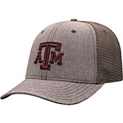 Top of the World Men's Texas A&M Aggies Grey ATM Adjustable Hat