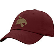 Top of the World Men's Texas State Bobcats Maroon Crew Washed Cotton Adjustable Hat