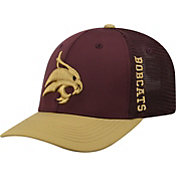 Top of the World Men's Texas State Bobcats Maroon Chatter 1Fit Fitted Hat