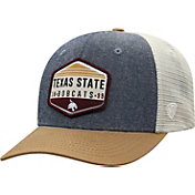 Top of the World Men's Texas State Bobcats Grey Wild Adjustable Hat