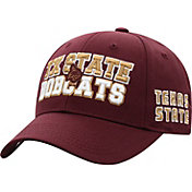 Top of the World Men's Texas State Bobcats Maroon Teamwork Adjustable Hat