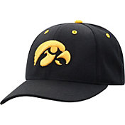 Top of the World Men's Iowa Hawkeyes Triple Conference Adjustable Black Hat