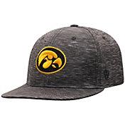 Top of the World Men's Iowa Hawkeyes Gritty 1Fit Flex Black Hat