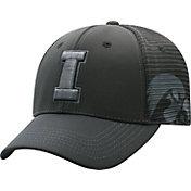 Top of the World Men's Iowa Hawkeyes Dayblaster Nightfall 1Fit Flex Black Hat