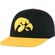 Top of the World Youth Iowa Hawkeyes Maverick Adjustable Black Hat