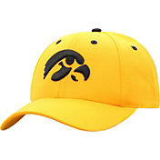 Top of the World Men's Iowa Hawkeyes Gold Triple Conference Adjustable Hat