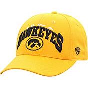 Top of the World Men's Iowa Hawkeyes Gold Whiz Adjustable Hat