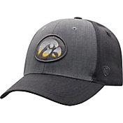 Top of the World Men's Iowa Hawkeyes Grey Powertrip 1Fit Flex Hat