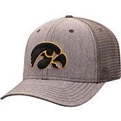 Top of the World Men's Iowa Hawkeyes Grey ATM Adjustable Hat