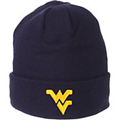 Zephyr Men's West Virginia Mountaineers Blue Cuffed Knit Beanie