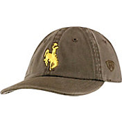 Top of the World Infant Wyoming Cowboys Brown MiniMe Stretch Closure Hat