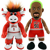 Bleacher Creatures Chicago Bulls Benny & Rodman Smusher Plush Duo