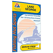 Fishing Hot Spots Lake George Fishing Map