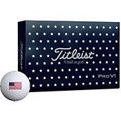 Titleist 2019 Pro V1 USA Golf Balls – 6 Pack