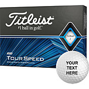 Titleist 2020 Tour Speed Personalized Golf Balls