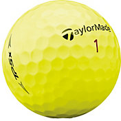 TaylorMade 2019 TP5x Yellow Personalized Golf Balls