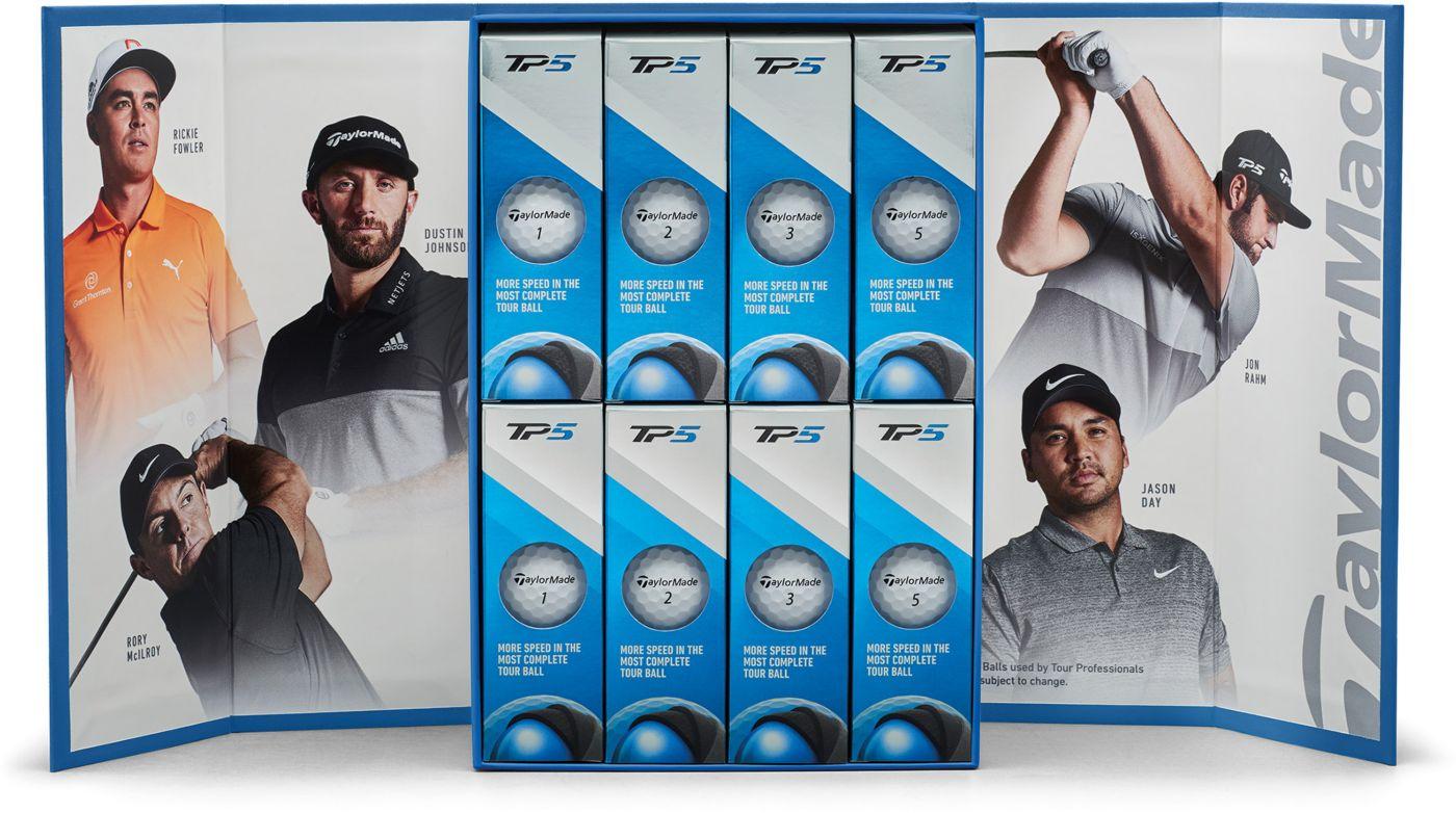 TaylorMade TP5 Golf Balls – 4 Dozen