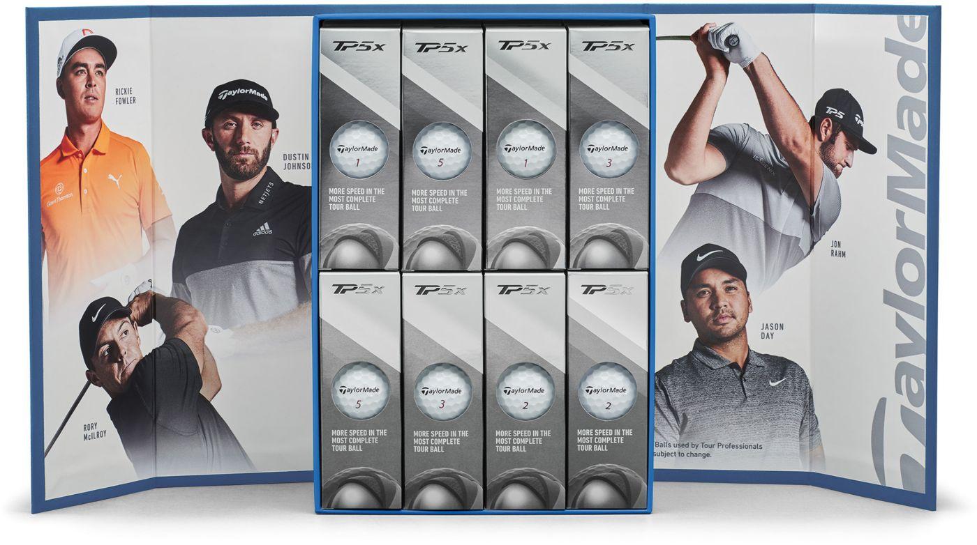 TaylorMade TP5x Golf Balls – 4 Dozen