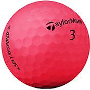 TaylorMade Soft Response Matte Red Golf Balls