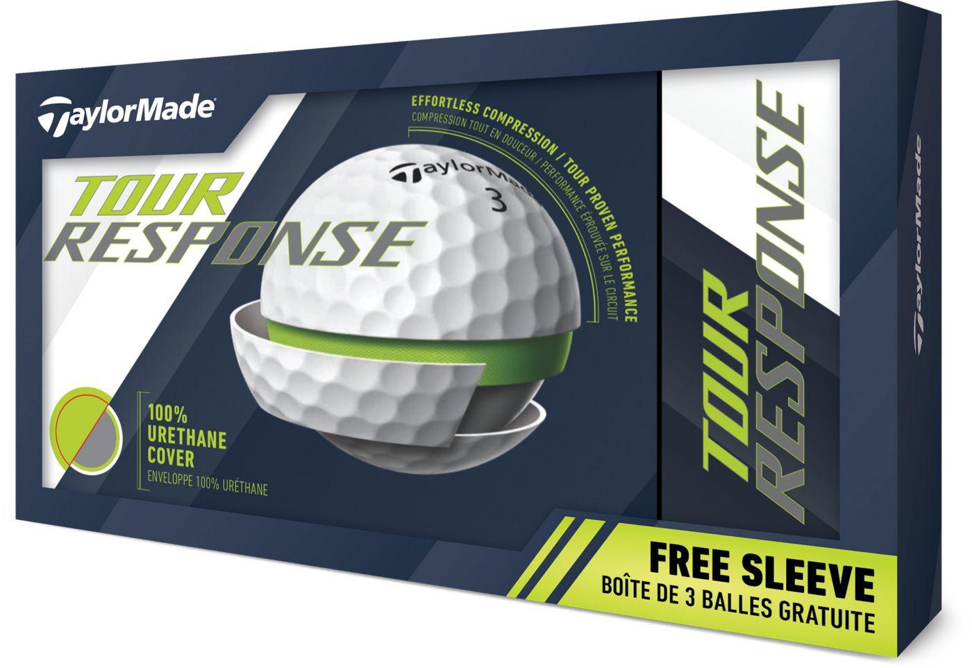 TaylorMade Tour Response Golf Balls – 15 Pack