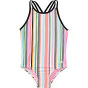 TYR Girls' Peekaboo Oliviafit One Piece Swimsuit