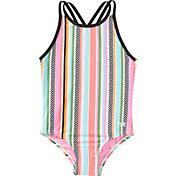 TYR Girls' Peekaboo Oliviafit One-Piece Swimsuit