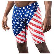 TYR Men's Star-Spangled Jammer Swimsuit