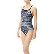 TYR Women's All American Diamond Fit One Piece Swimsuit