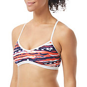TYR Women's All American Trinity Bikini Top