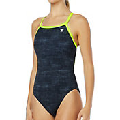 TYR Women's Sandblasted Diamondfit One Piece Swimsuit