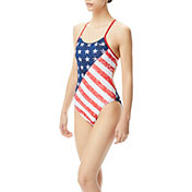 TYR Women's Star Spangled Cutoutfit One Piece Swimsuit