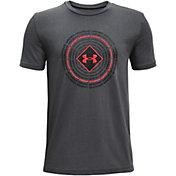 Under Armour Boys' Circle Repeat Short Sleeve T-Shirt