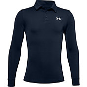 Under Armour Boy's Playoff Long Sleeve Polo