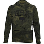 Under Armour Boys' Project Rock Veteran's Day Pullover Hoodie