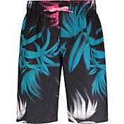 Under Armour Boys' Palm Camo Swim Shorts