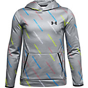 Under Armour Boys' Armour Fleece Printed Hoodie