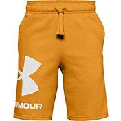 Under Armour Boys' Rival Fleece Logo Shorts